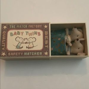 Maileg, Baby Mice, New In Box, Matchbox